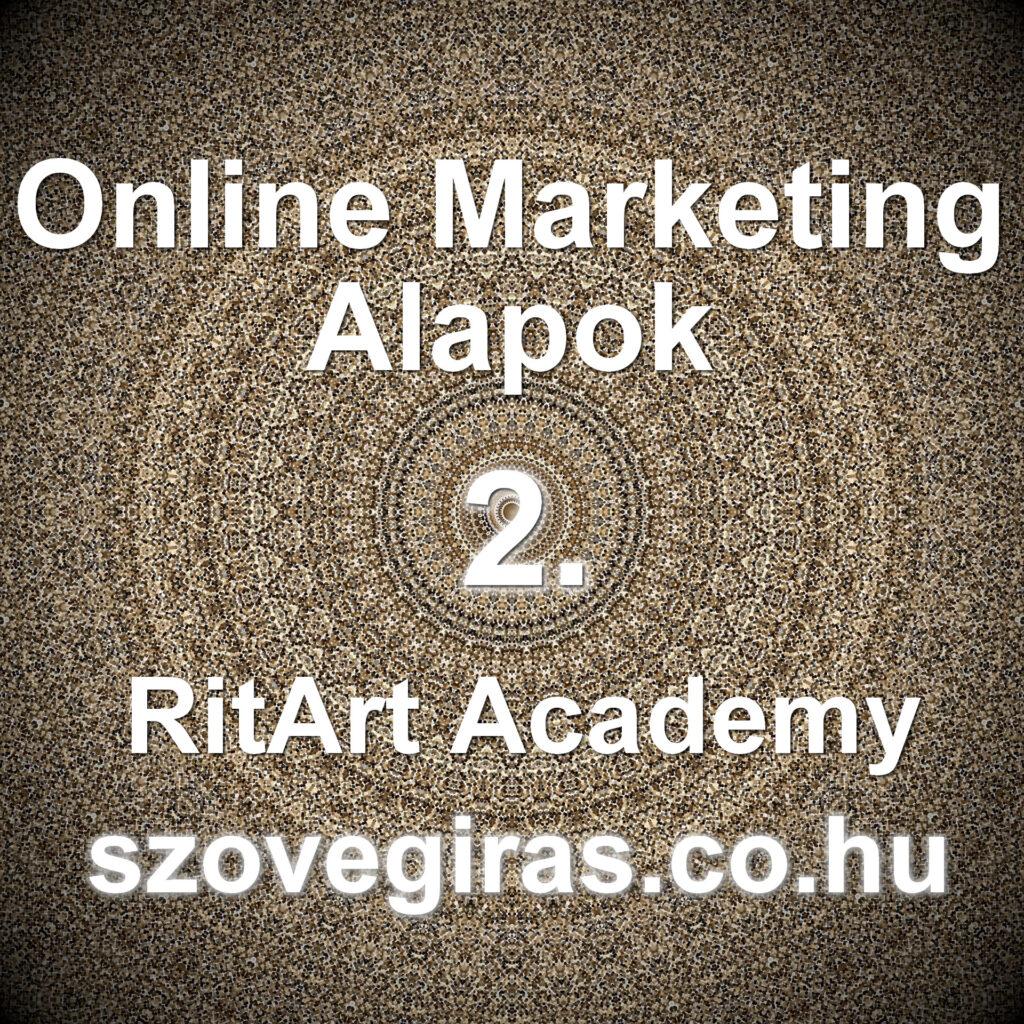 Online Marketing Alapok tanfolyam 2