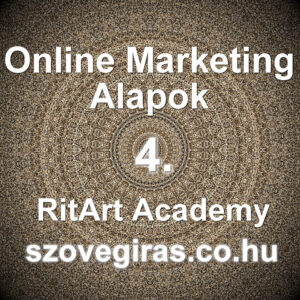 Online Marketing Alapok tanfolyam 4.